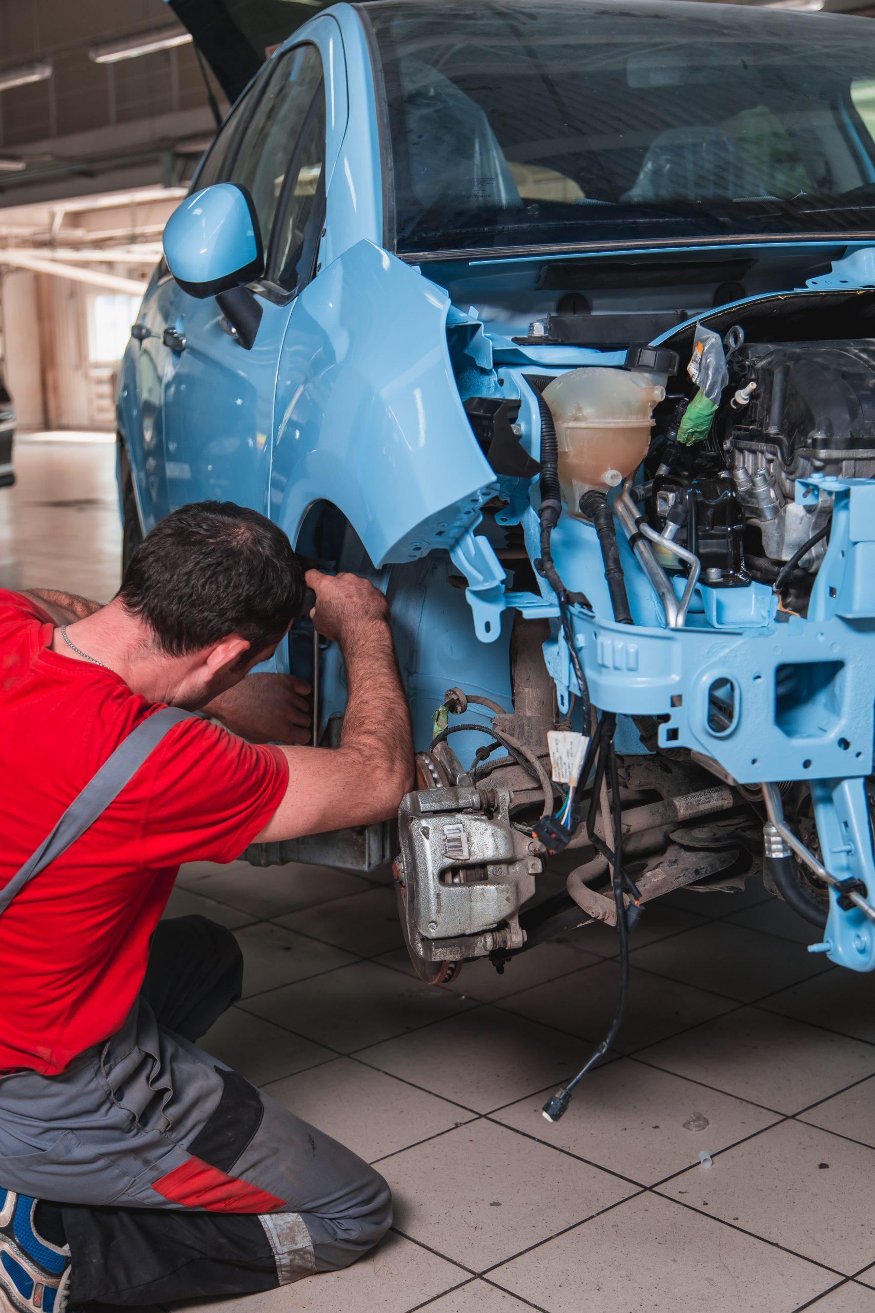 Полный кузовной ремонт