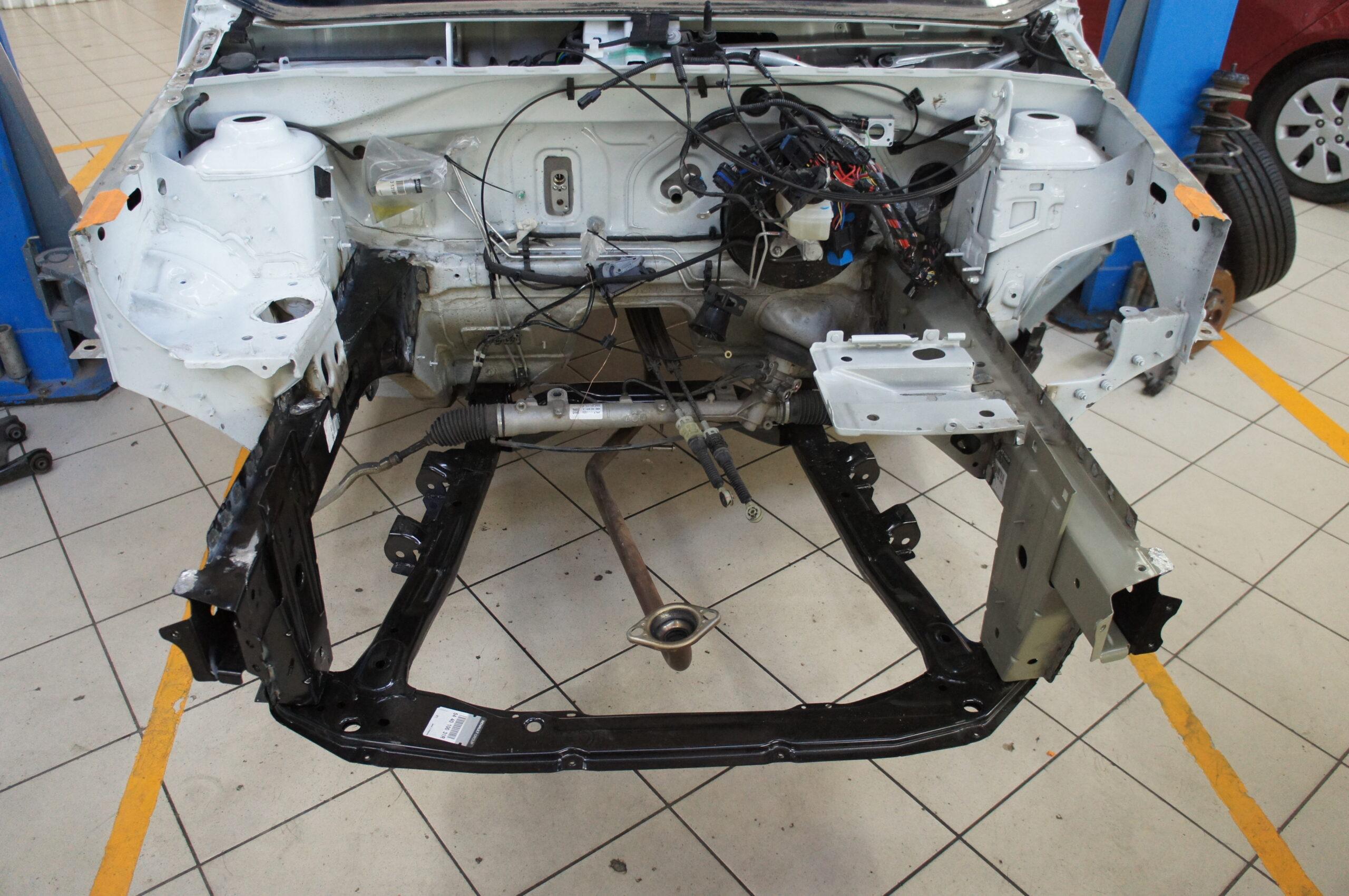 Восстановление кузова после аварии